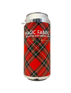 Bière Magic Fabric Creamy Blackcurrant DIPA 44 cl Brasserie Merlin