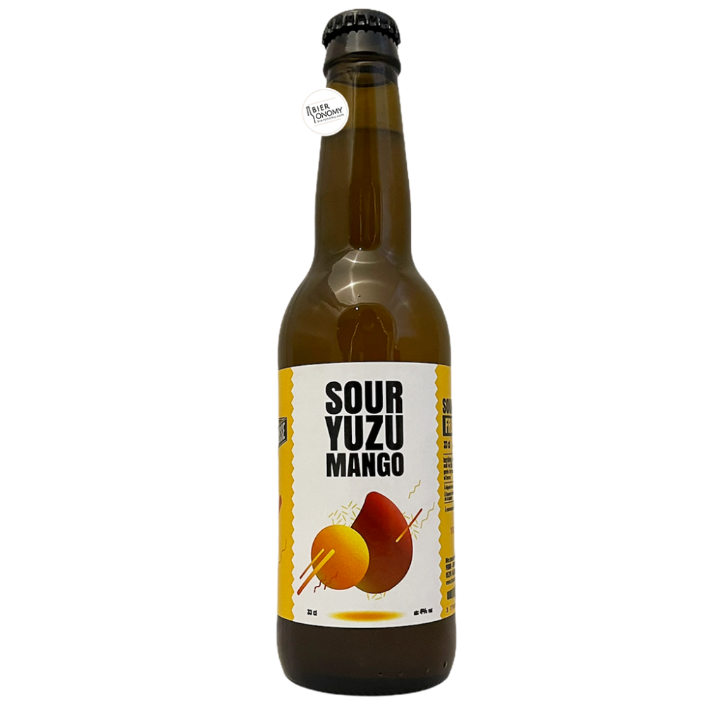 Bière Sour Yuzu Mango 33 cl Brasserie La Muette