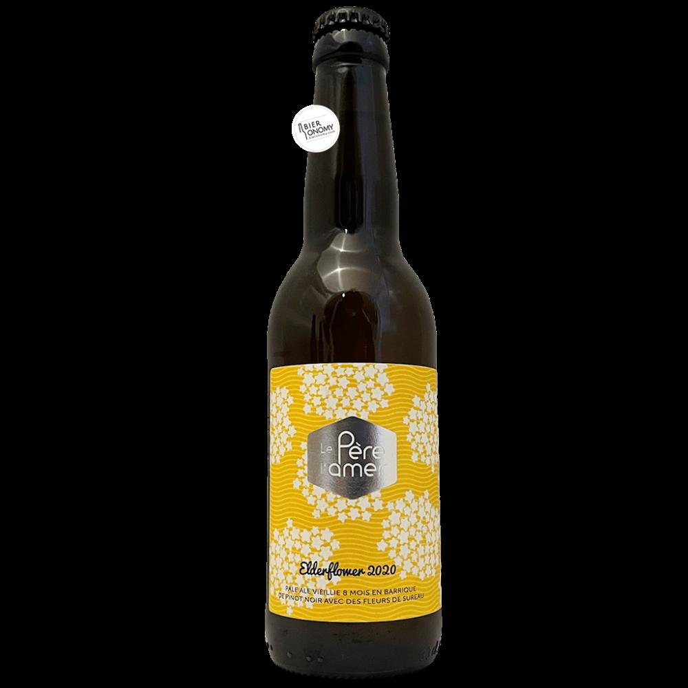 Bière Elderflower 2020 Pale Ale Sureau Barrel Aged 33 cl Brasserie Le Père L'Amer