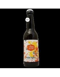 Bière Poum Poum 8 Double IPA 33 cl Brasserie Le Père L'Amer