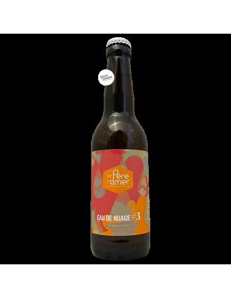 Bière Eau de Nuage 3 IPA Sans Alcool 33 cl Brasserie Le Père L'Amer