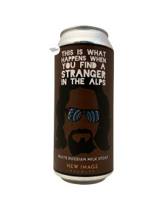 Bière This Is What Happens When You Find A Stranger In the Alps White Russian Milk Stout 47,3 cl Brasserie New Image