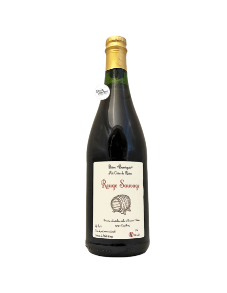 Bière Rouge Sauvage Barriquée Côtes du Rhône 75 cl Brasserie Thiriez