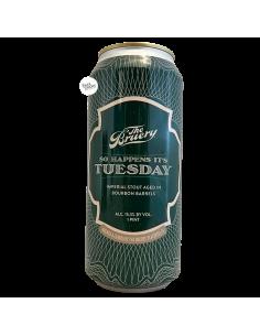 Bière So Happens It's Tuesday Imperial Stout Bourbon BA 47,3 cl Brasserie The Bruery
