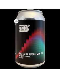 Bière BBC Imperial Milk Stout Rum Barrel Aged 33 cl Brasserie Bereta