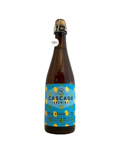 Bière Citrus Noyaux 2019 Barrel Aged Sour 50 cl Brasserie Cascade Brewing