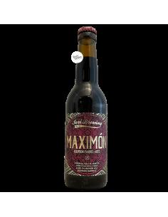 Bière Maximón Bourbon BA Special Imperial Baltic Porter 33 cl Brasserie Sori