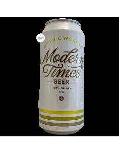 Bière Mythic Worlds Hazy IPA 47 cl Brasserie Modern Times