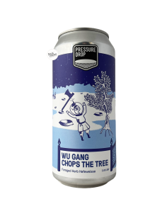Bière Wu Gang Chops The Tree Hefeweisse 44 cl Brasserie Pressure Drop