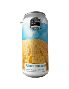 Bière Future Sunshine Triple Fruited Sour 44 cl Brasserie Pressure Drop