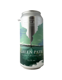 Bière Green Path Citra & Mosaic IPA 44 cl Brasserie Burnt Mill