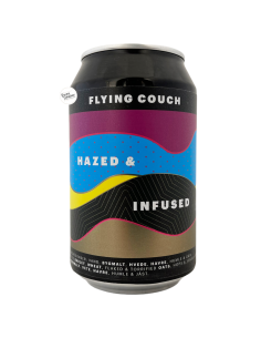 Bière Hazed And Infused NEIPA 33 cl Brasserie Flying Couch Brewing