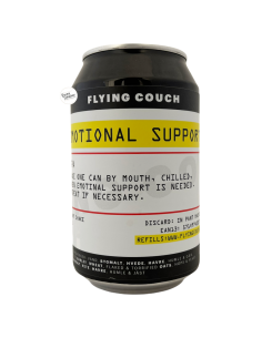 Bière Emotional Support NEIPA 33 cl Brasserie Flying Couch Brewing