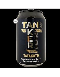 Bière Black Pearl Tatakoto Bourbon BA Black Barleywine 33 cl Brasserie Tanker