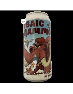 Bière Mosaic Mammoth NE DDH IIPA 44 cl Brasserie Uiltje