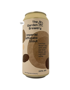 Bière Imperial Affogato Stout 44 cl Brasserie The Garden Brewery