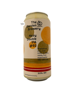 Bière Hazy Double IPA 02 44 cl Brasserie The Garden Brewery