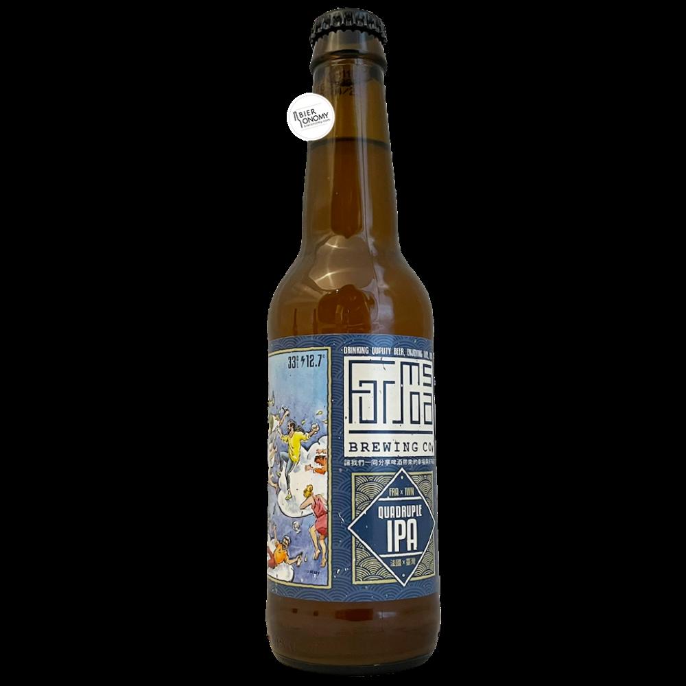 Bière Quadruple IPA 33 cl Brasserie Formosa Brewing