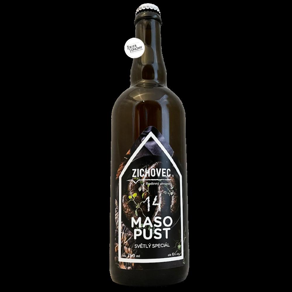 Bière Masopust 14 Czech Pilsner 75 cl Brasserie Zichovec