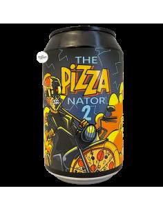 Bière The Pizzanator 2 Pizza Gose 33 cl Brasserie Cosmic City