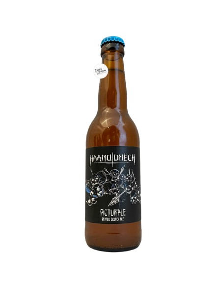Bière Pictur'ale Peated Scotch Ale 33 cl Brasserie Haarddrëch