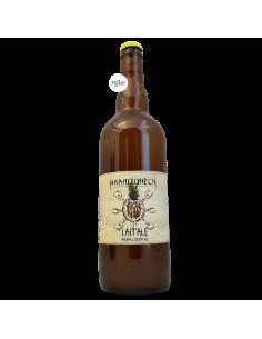 Bière Lait'ale Pineapple Creamy Ale 75 cl Brasserie Haarddrëch