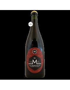 Bière Brune 49 75 cl Brasserie La Manivelle