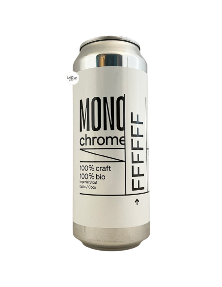 Bière FFFFFFF Imperial Stout Datte Coco 50 cl Brasserie Monochrome
