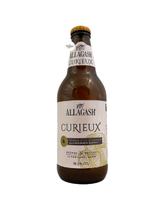 Bière Curieux Tripel Bourbon Barrel Aged 35,5 cl Brasserie Allagash