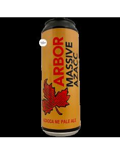 Bière Massive Azacc NE Pale Ale 56,8 cl Brasserie Arbor Ales