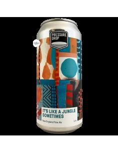 Bière It's Like A Jungle Sometimes NE Pale Ale 44 cl Brasserie Pressure Drop