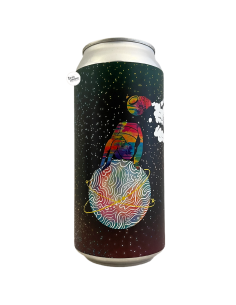 Bière Cosmic Starry Dimension Stout 44 cl Brasserie Left Handed Giant