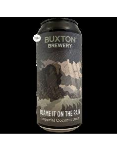 Bière Blame It On The Rain Imperial Coconut Stout 44 cl Brasserie Buxton