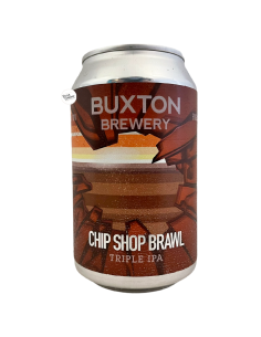 Bière Chip Shop Brawl Triple IPA 33 cl Brasserie Buxton