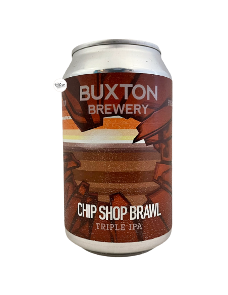 Bière Chip Shop Brawl Triple IPA 33 cl Brasserie Buxton