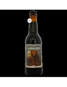Bière Goodbye 2020 Russian Imperial Stout 33 cl Brasserie Effet Papillon
