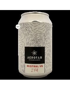 Bière Mistral V6 IPA 33 cl Brasserie Aerofab