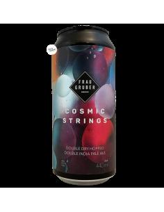 Bière Cosmic Strings DDH NE DIPA 44 cl Brasserie FrauGruber