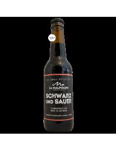 Bière SCHWARZ UND SAUER 33 cl Brasserie La Malpolon