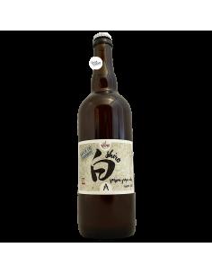 Bière Shiro Saison Grape Ale barriquée 75 cl Brasserie La Pleine Lune