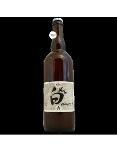 Bière Shiro Saison Grape Ale 75 cl Brasserie La Pleine Lune