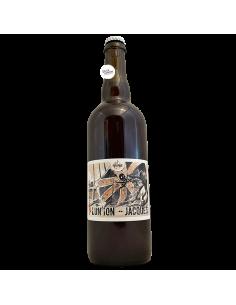 Bière Lun'ion Jacques IPA au seigle 75 cl Brasserie La Pleine Lune