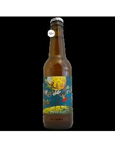 Bière Gens De La Lune Tropical Lager 33 cl Brasserie La Pleine Lune