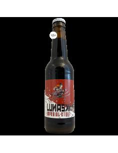 Bière Lunaski Imperial Stout 33 cl Brasserie La Pleine Lune