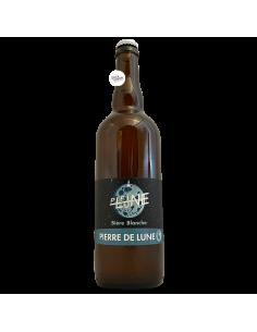 Bière Pierre de Lune Blanche 75 cl Brasserie La Pleine Lune