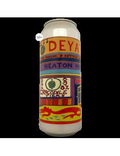 Bière Crocodile Tiers NE DIPA 50 cl Brasserie DEYA Brewing