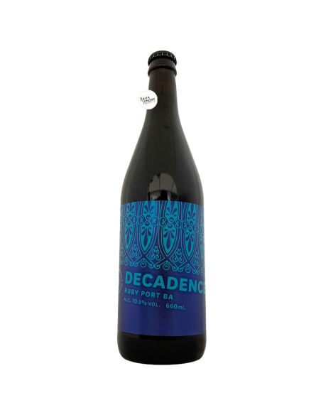 Bière Ruby Port BA Decadence 2020 Imperial Stout 66 cl Brasserie Marble Brewery