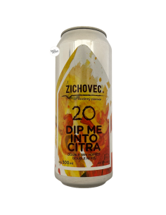Bière Dip Me Into Citra 20 DDH Double NEIPA 50 cl Brasserie Zichovec