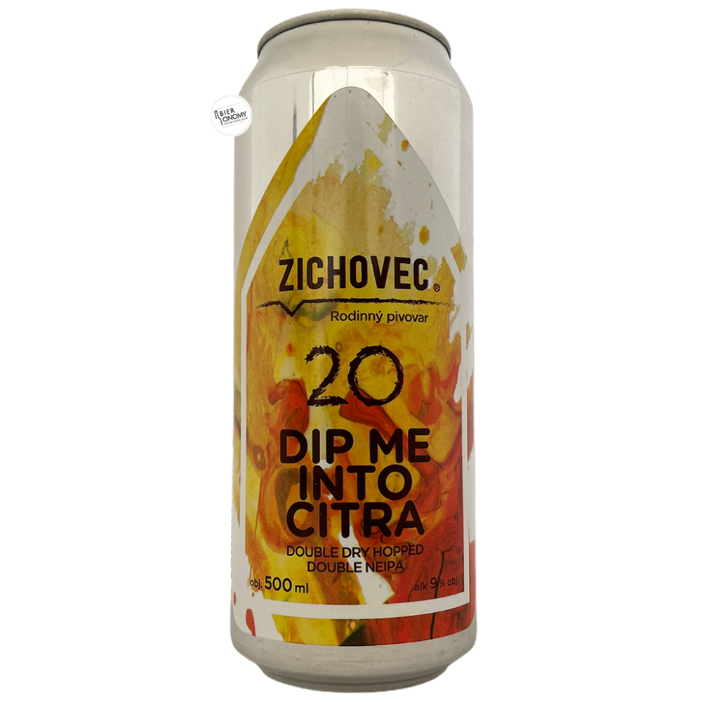Bière Dip Me Into Citra 20 DDH Double NEIPA 50 cl Brasserie Zichovec