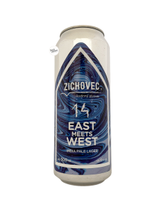 Bière East Meets West 14 IPL 50 cl Brasserie Zichovec White Labs